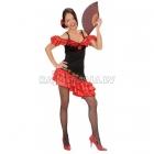 Spānijas Senorita kostīms, S izmērs - kleita, matu sprādzīte rozes formā