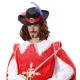 Musketieria īsts izskatīties cepure