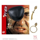 Pirātu komplekts, apsējs uz acs , auskars, sortimentā.