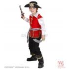 Pirātu kostīms 128cm - jaka krekls bikses