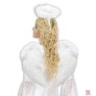 Eņģeļu spārni, balti spalvas, 37 x 50 cm