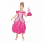 BĀRBIJA princese Meiteņu kostīms  8-10 gadu vecumam (134cm)