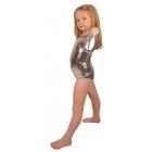 Bodijs sporta dejām sudrabainā 116 cm