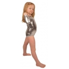 Bodijs  sporta dejām sudrabainā 128 cm