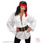 Balta pirātu krekls