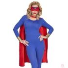 Super varoņa  tērps  apmetnis maska pieaugušajiem