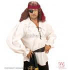 Pirāta vai renesanses stilā krekls/blūze baltā krāsā. Unisex, M/L vīriešu izmērs