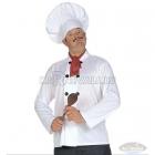 Pavāra komplekts, M/L izmērs - cepure, jaka, šalle