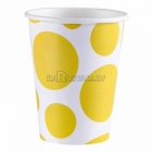 PUNKTI glāzes, Dzeltena saule krāsa