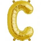 """Burtu balons """"C"""",  41cm, folijas figūra paredzēta piepūšanai ar gaisu"""