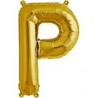 """Burtu balons """"P"""",  41cm, folijas figūra paredzēta piepūšanai ar gaisu"""