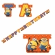 """Party banner  Minions """"HAPPY BIRTHDAY"""" 1.8m"""