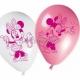 Minnija  lateksa baloni ar krāsu apdruku 6.gab. 27.5 cm