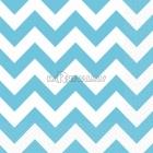 ZIGZAG Papīra salvetes, Karību jūras zila  krāsa, izmērs - 33х33cm 20.gab.