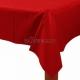 Platikāta galdauts bez zīmējuma, Sarkanais ābols, 137 cm x 274 cm
