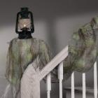 Marle drapēšanai, pelēkā, 61cm x 4.5m, dekorācija Helovīniem.