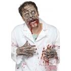 Zombija maska, pilnas galvas, lateksa