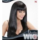Sieviešu parūka garie melnie  mati