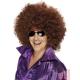 Afro stila parūka, liela apjoma, brūna, sintētika