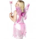 Крылья бабочки и волшебная палочка, цвет розовый