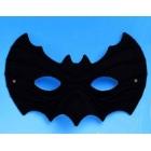 Karnevāla Sikspārņu maska, melna