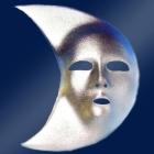 Karnevāla maska MĒNESS