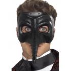 Venēcijas stila  acu maska ar knābi, gotiska