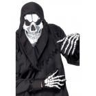 Galvaskausa maska ar kapuci un cimdiem