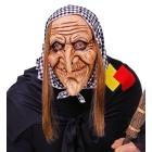RAGANAS SEJAS MASKA ar matiem un galvas lakatu, pieaugušo izmērs