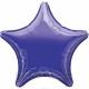Zvaigzne violeta folijas balons 48 cm