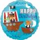 Pirātu kuģis  Dzimšanas diena folija balons 43 cm