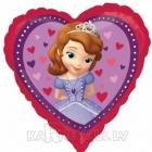 Sofia Pirmā mīlestība  folijas balons 43 cm