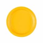 Papīra šķīvji Dzeltenas 17.7 cm
