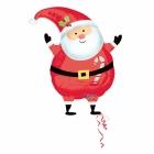 """Folijas hēlija balons """"Santa"""", izmērs 55 cm"""