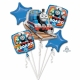 Pušķis TOMAS 5 hēlijas baloni
