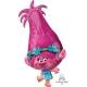 """Folijas balons """"Troļļi"""", izmērs 38 x 78 cm,"""