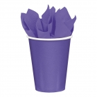 8 Cups Paper New Purple 266ml