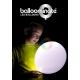LED (gaismas diode) balonie, krāsainas, mirgojošas
