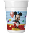 Plastmasas glāzes 8.gab DISNEY PLAYFUL MICKEY