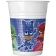 Plastmasas glāzes 8.gab PJ MASKS ENTERTAINMENT