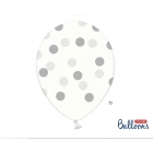 Lateksa balons ar  punktiem 1.gab. 30 cm