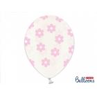 Lateksa balons, ziedi 1.gab. 30 cm