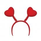 Красные сердечки на пружинках, карнавальный аксессуар