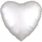 """Sirds formas folijas balons """"Satin Luxe Pērļu krāsa"""", iepakots, 43cm"""