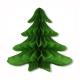 Бумажная объемная  декорация - Новогодняя елочка