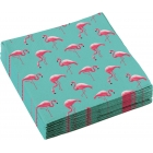 "Salvetes ""Flamingo Paradise"", 33x33 cm., 20 gab."