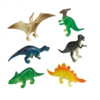 "Mini figūriņas ""Laimīgs Dinozaurs"", 8 gab."