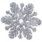 Новогодняя призматическая декорация -Снежинка