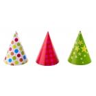 Cepurītes, ar punktiem/zvaigzniem, trīs veidi (norādiet vēlamo komentāros)