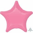 """Zvaigznes formas folijas balons """"Burbuļgumijas rozā"""", iepakots, 48cm"""